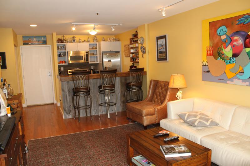 Unit 115- Living Room