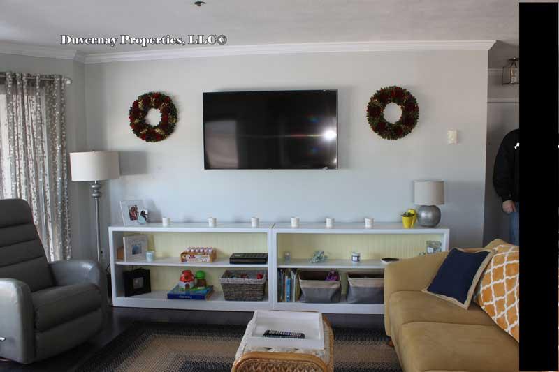 Unit 705 - Living area
