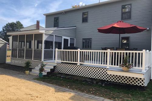 Porch open air deck