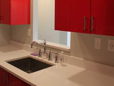 Unit 416 kitchen sink